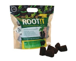 ROOT!T Natural Rooting Sponges and Trays