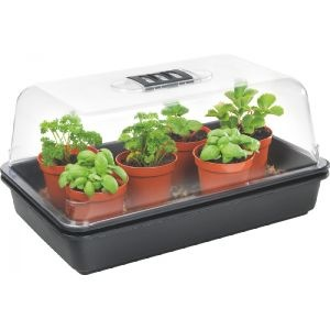 Stewarts Medium Heated Propagator (38x24x21.5cm)